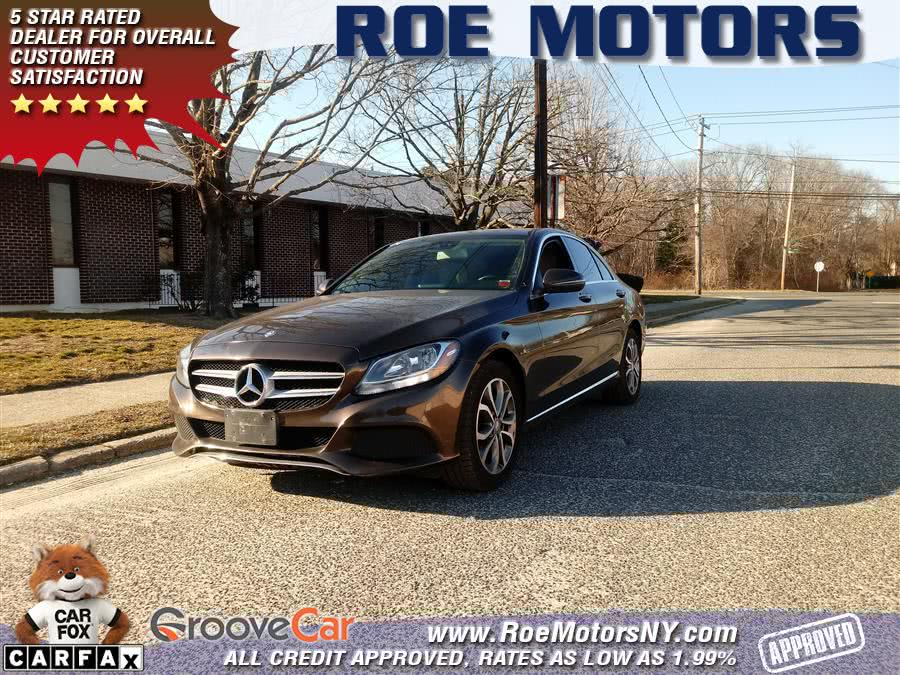 Used 2016 Mercedes-Benz C-Class in Shirley, New York | Roe Motors Ltd. Shirley, New York