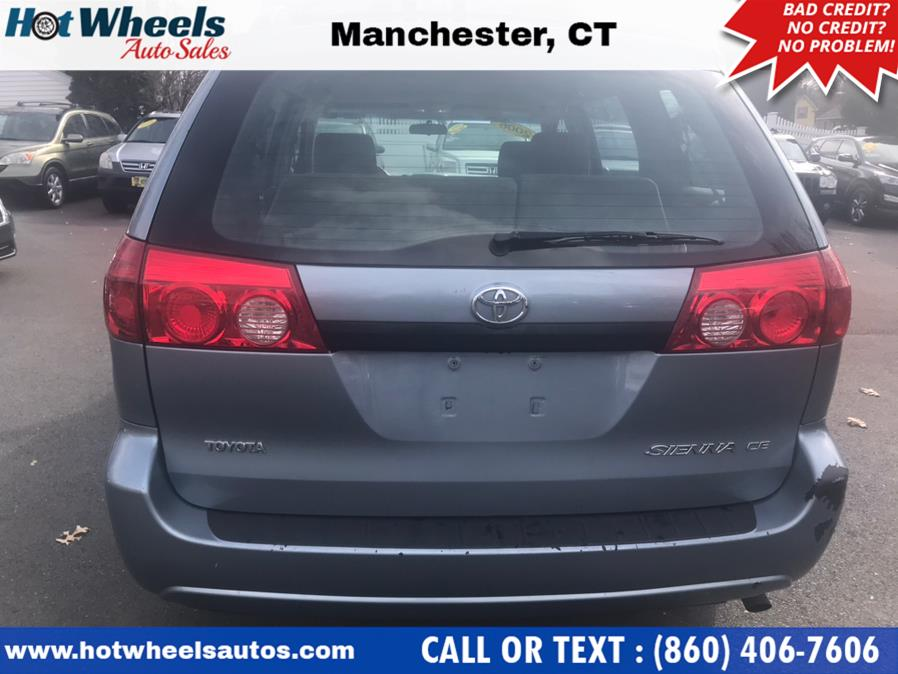 Used Toyota Sienna 5dr CE FWD 7-Passenger (Natl) 2006 | Hot Wheels Auto Sales LLC. Manchester, Connecticut
