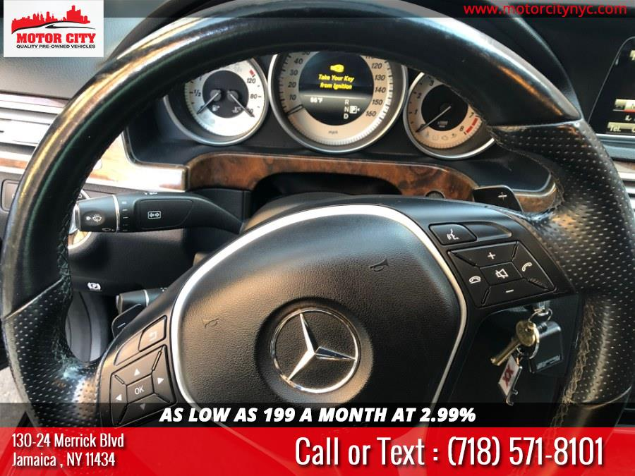 Used Mercedes-Benz E-Class 4dr Sdn E350 Sport 4MATIC 2014 | Motor City. Jamaica, New York