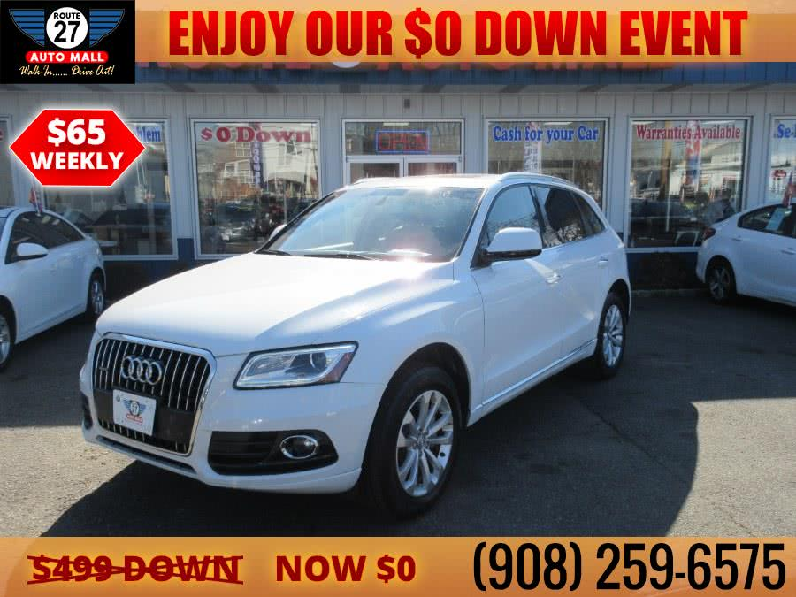 Used 2015 Audi Q5 in Linden, New Jersey | Route 27 Auto Mall. Linden, New Jersey