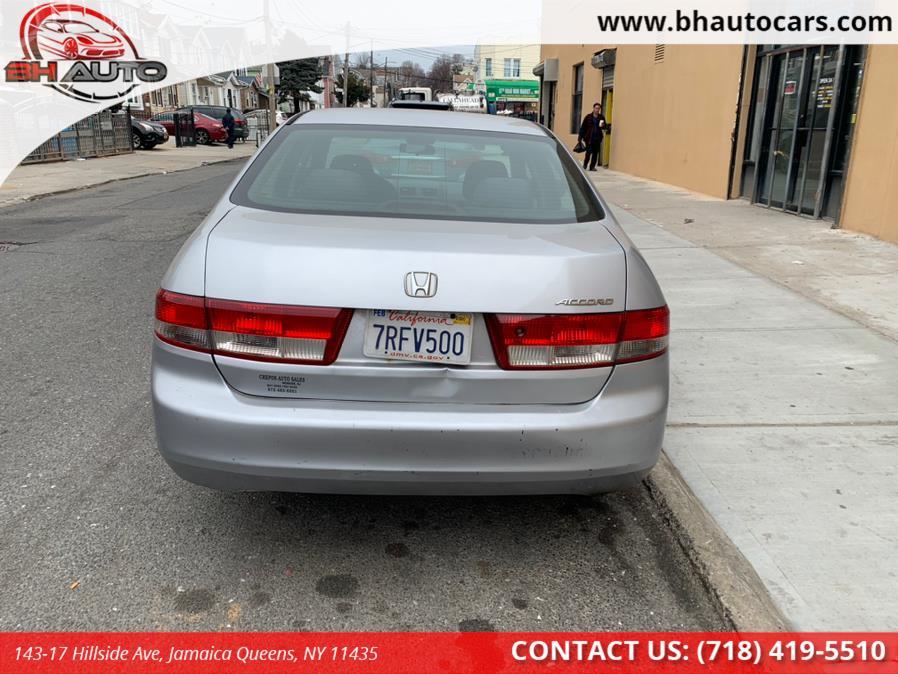 Used Honda Accord Sdn EX Manual 2004   BH Auto. Jamaica Queens, New York