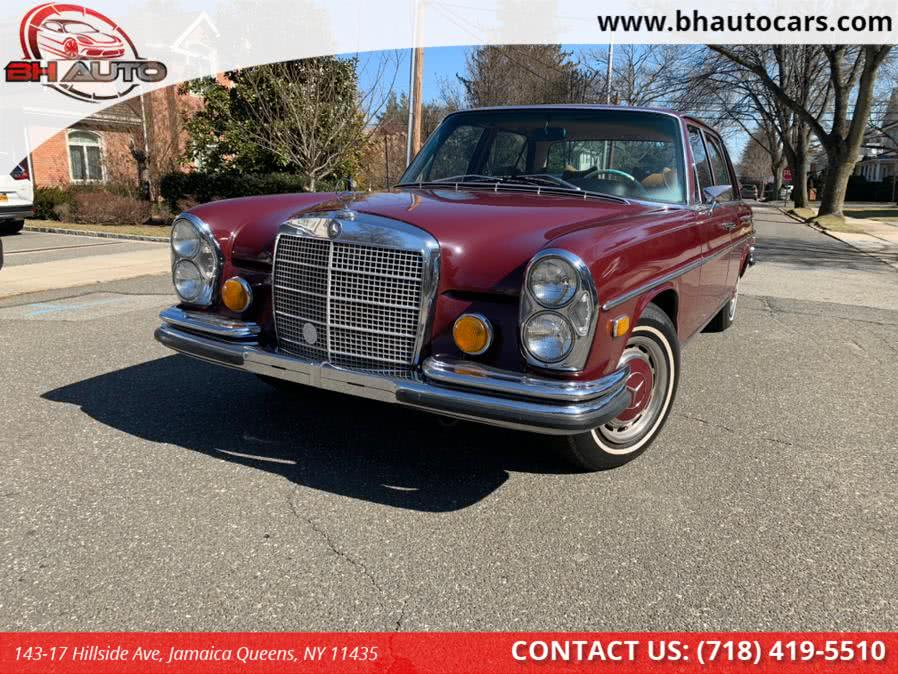 Used 1970 Mercedes-Benz 280sel in Jamaica Queens, New York | BH Auto. Jamaica Queens, New York