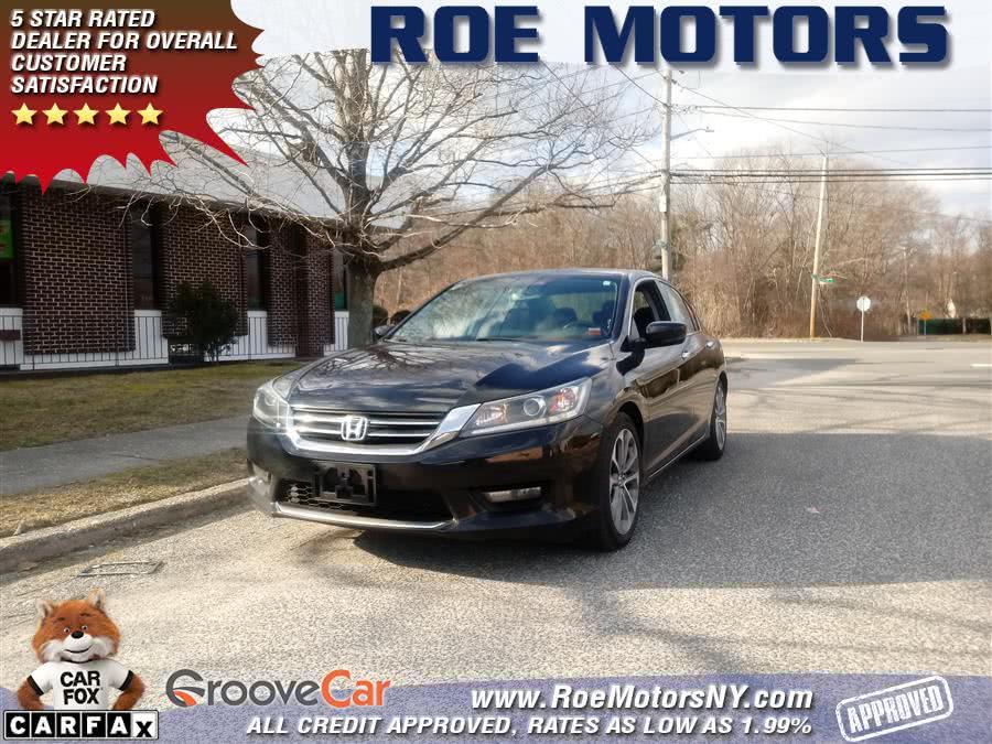 Used 2014 Honda Accord Sedan in Shirley, New York | Roe Motors Ltd. Shirley, New York
