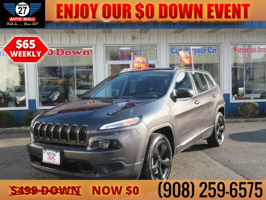 Used 2017 Jeep Cherokee in Linden, New Jersey | Route 27 Auto Mall. Linden, New Jersey