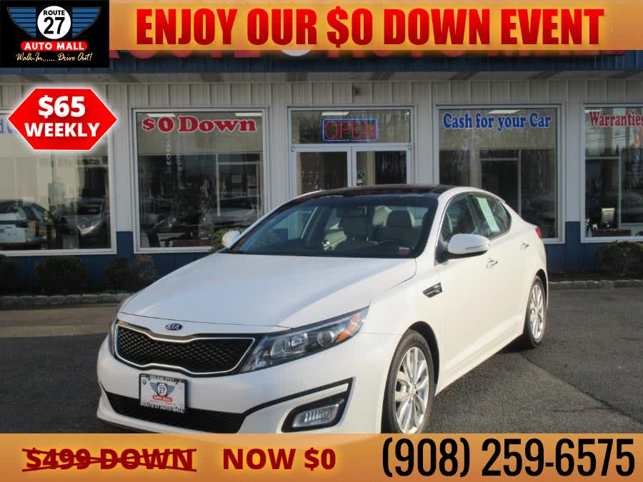Used 2015 Kia Optima in Linden, New Jersey | Route 27 Auto Mall. Linden, New Jersey