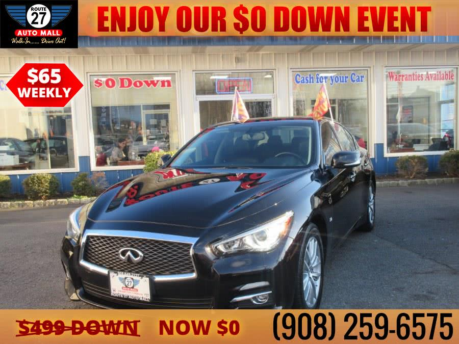 Used 2015 INFINITI Q50 in Linden, New Jersey | Route 27 Auto Mall. Linden, New Jersey
