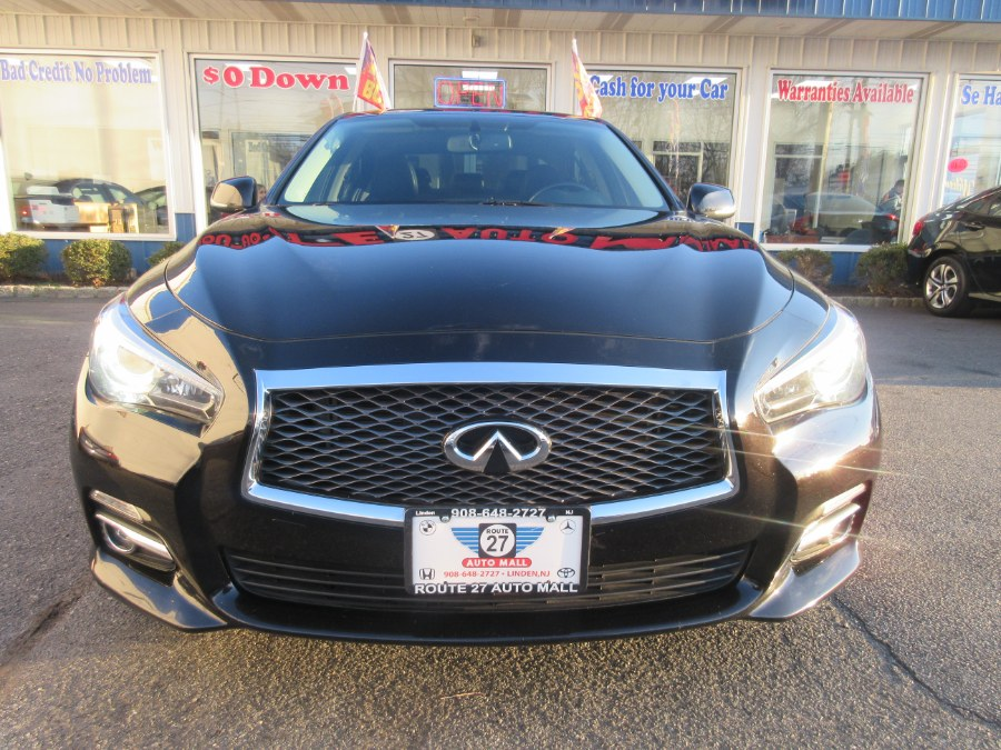 Used INFINITI Q50 4dr Sdn Premium AWD 2015 | Route 27 Auto Mall. Linden, New Jersey