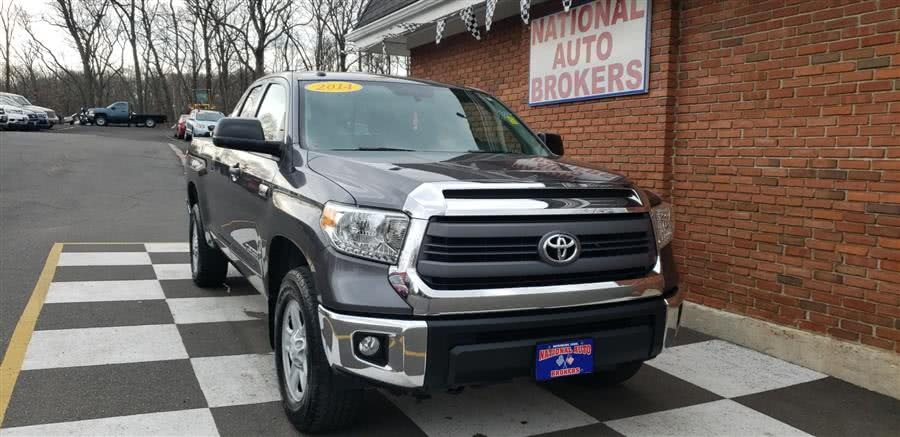 Used Toyota Tundra 4WD Truck Double Cab 5.7L SR5 2014   National Auto Brokers, Inc.. Waterbury, Connecticut