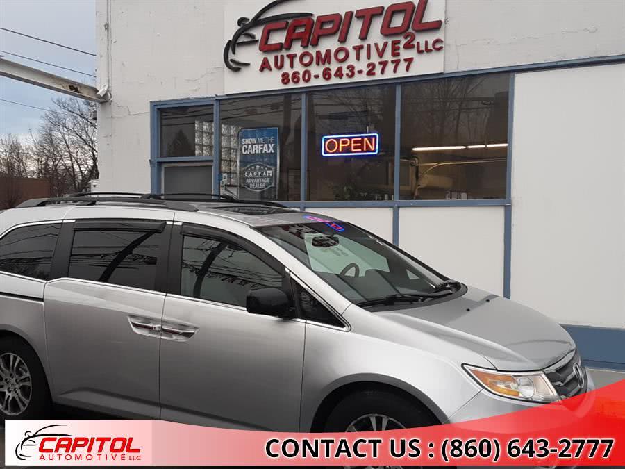 Used Honda Odyssey 5dr EX-L 2013 | Capitol Automotive 2 LLC. Manchester, Connecticut