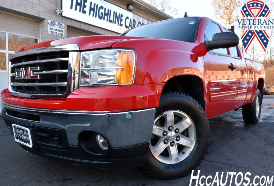 Used GMC Sierra 1500 4WD Ext Cab  SLE 2013 | Highline Car Connection. Waterbury, Connecticut