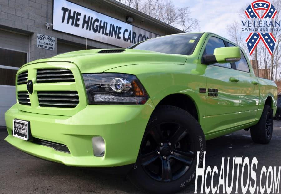 "Used Ram 1500 Sport 4x4 Crew Cab 5''7"" Box 2017   Highline Car Connection. Waterbury, Connecticut"