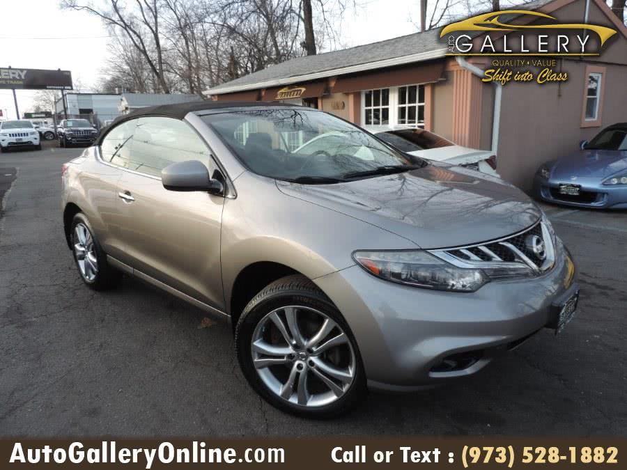 Used Nissan Murano CrossCabriolet AWD 2dr Convertible 2012 | Auto Gallery. Lodi, New Jersey