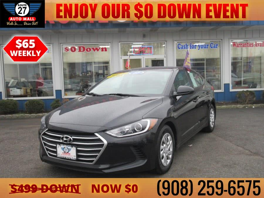 Used 2017 Hyundai Elantra in Linden, New Jersey | Route 27 Auto Mall. Linden, New Jersey