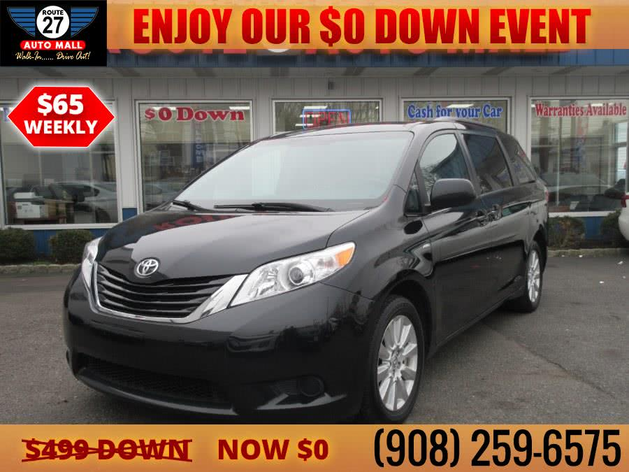 Used 2017 Toyota Sienna in Linden, New Jersey | Route 27 Auto Mall. Linden, New Jersey
