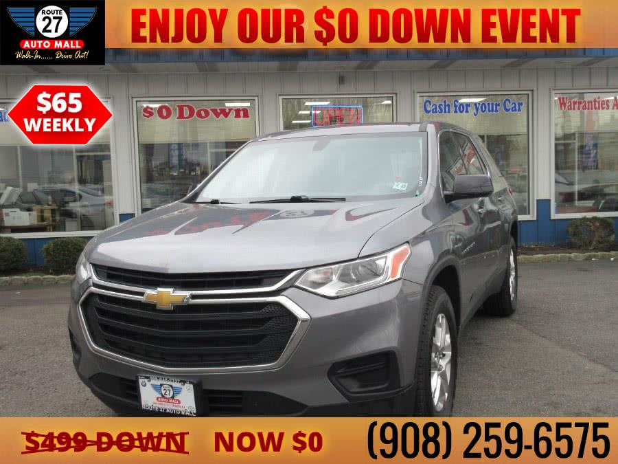Used 2018 Chevrolet Traverse in Linden, New Jersey | Route 27 Auto Mall. Linden, New Jersey