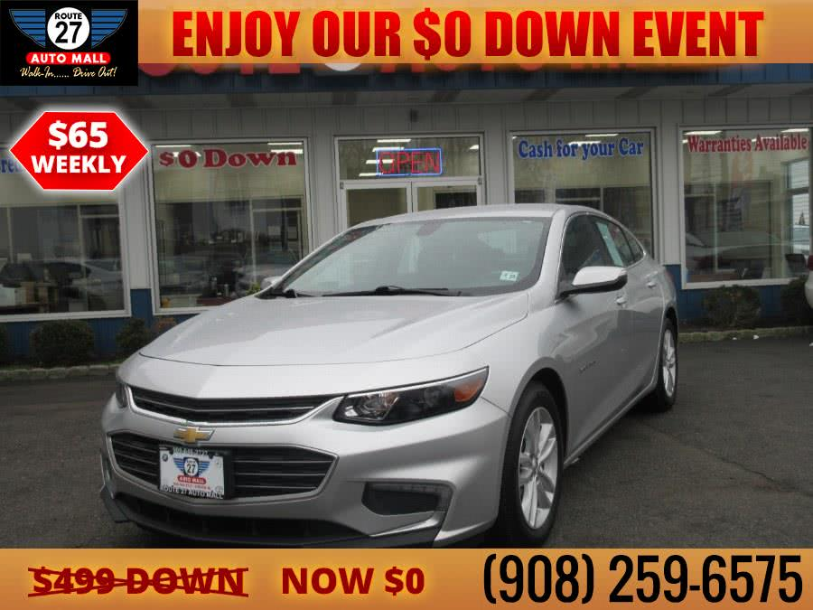 Used 2018 Chevrolet Malibu in Linden, New Jersey | Route 27 Auto Mall. Linden, New Jersey