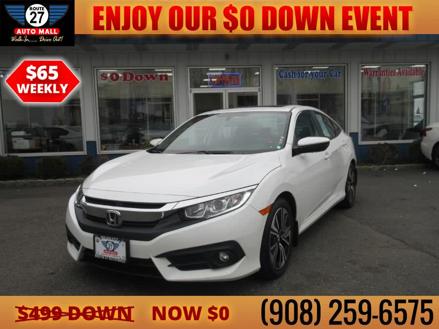 Used 2016 Honda Civic Sedan in Linden, New Jersey | Route 27 Auto Mall. Linden, New Jersey