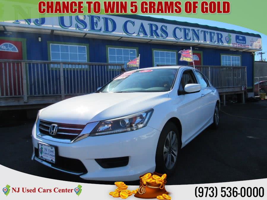 Used 2014 Honda Accord Sedan in Irvington, New Jersey | NJ Used Cars Center. Irvington, New Jersey
