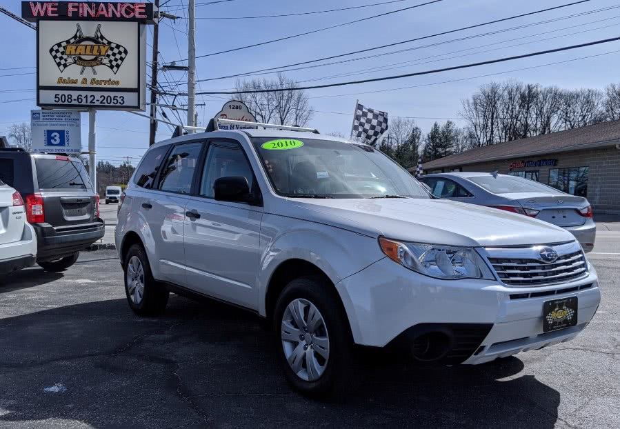 Used 2010 Subaru Forester in Worcester, Massachusetts | Rally Motor Sports. Worcester, Massachusetts