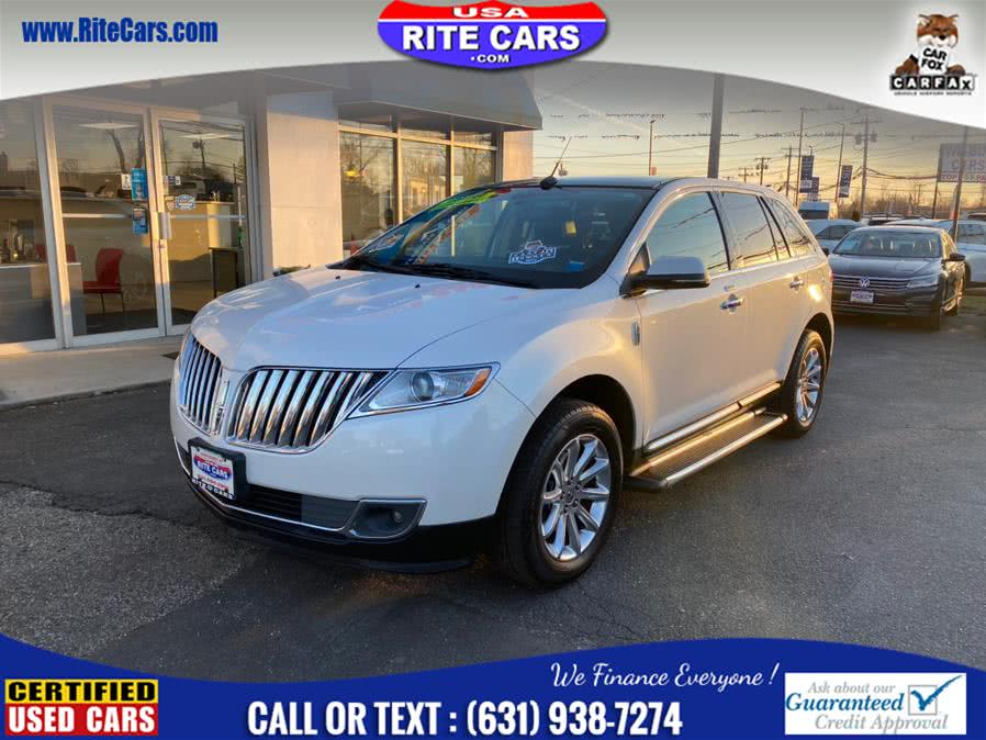 Used Lincoln MKX AWD 4dr w. Drivers Assist 2013 | Rite Cars, Inc. Lindenhurst, New York