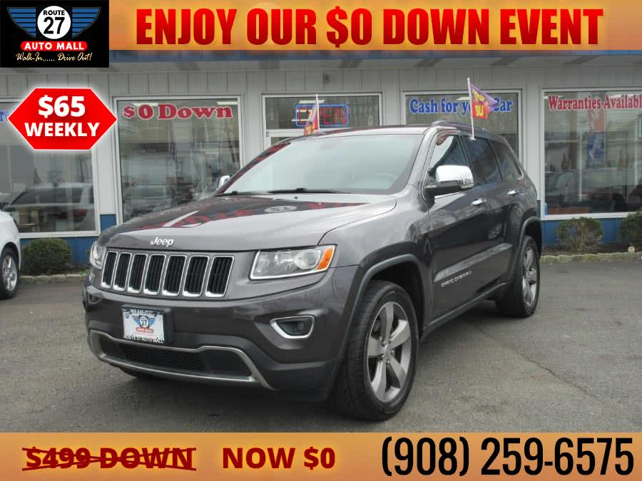 Used 2014 Jeep Grand Cherokee in Linden, New Jersey | Route 27 Auto Mall. Linden, New Jersey