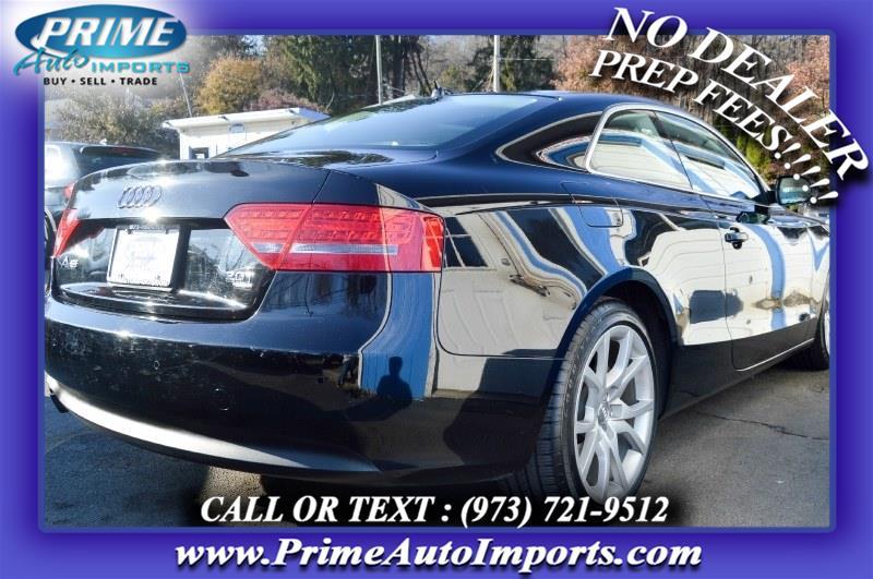 Used Audi A5 2dr Cpe Auto quattro 2.0T Premium Plus 2012   Prime Auto Imports. Bloomingdale, New Jersey