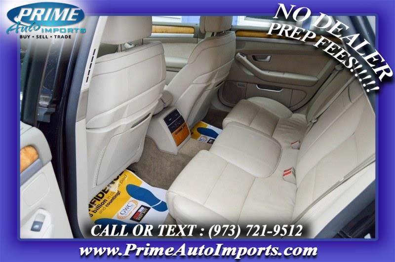 Used Audi A8 4dr Sdn 2008   Prime Auto Imports. Bloomingdale, New Jersey