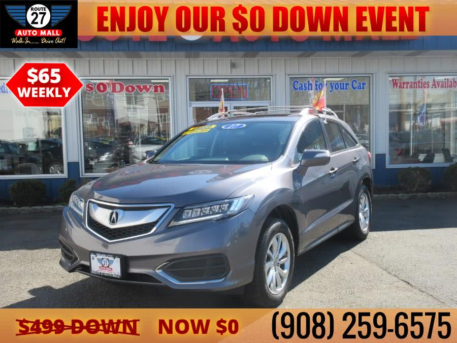 Used 2017 Acura RDX in Linden, New Jersey | Route 27 Auto Mall. Linden, New Jersey
