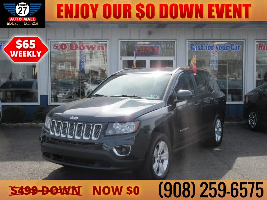 Used 2015 Jeep Compass in Linden, New Jersey | Route 27 Auto Mall. Linden, New Jersey