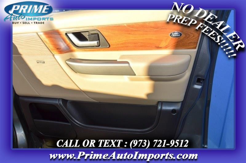 Used Land Rover Range Rover Sport 4WD 4dr SC 2008 | Prime Auto Imports. Bloomingdale, New Jersey