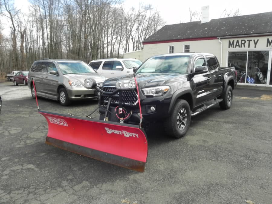 Used Toyota Tacoma TRD Off Road Double Cab 5'' Bed V6 4x4 MT (Natl) 2018 | Marty Motors Inc. Ridgefield, Connecticut