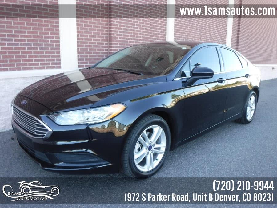 Used 2018 Ford Fusion in Denver, Colorado | Sam's Automotive. Denver, Colorado