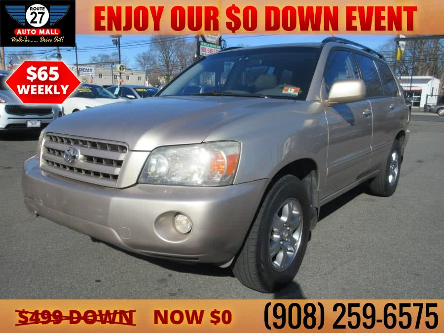 Used 2005 Toyota Highlander in Linden, New Jersey | Route 27 Auto Mall. Linden, New Jersey