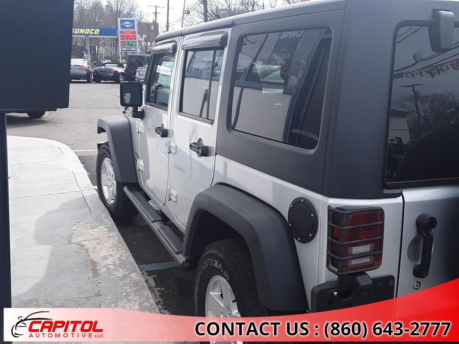Used Jeep Wrangler Unlimited 4WD 4dr Sport 2011 | Capitol Automotive 2 LLC. Manchester, Connecticut