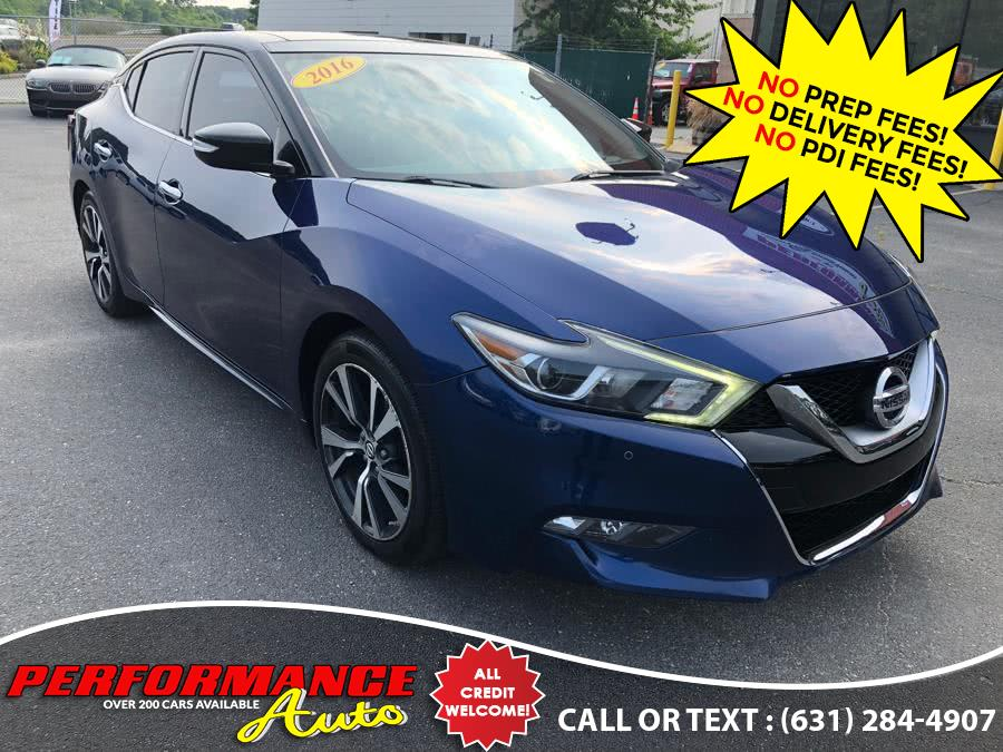 Used 2016 Nissan Maxima in Bohemia, New York | Performance Auto Inc. Bohemia, New York