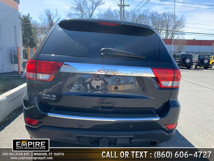 Used Jeep Grand Cherokee 4WD 4dr Limited 2011 | Empire Auto Wholesalers. S.Windsor, Connecticut
