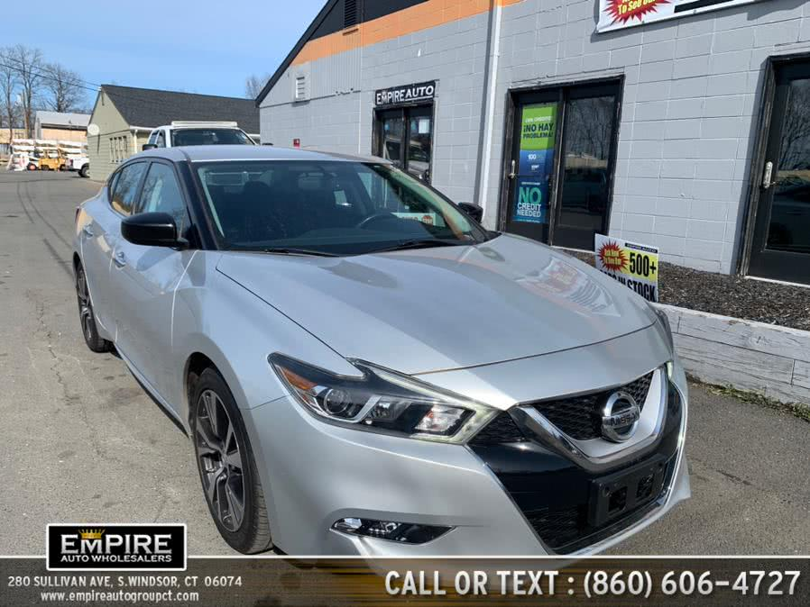 Used 2016 Nissan Maxima in S.Windsor, Connecticut | Empire Auto Wholesalers. S.Windsor, Connecticut