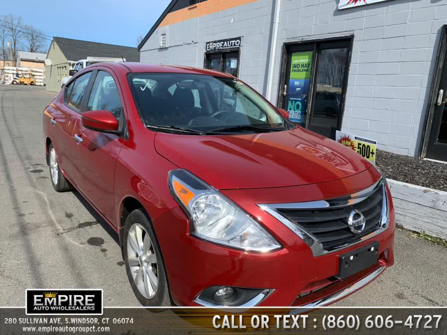 Used Nissan Versa 4dr Sdn CVT 1.6 SL 2015 | Empire Auto Wholesalers. S.Windsor, Connecticut
