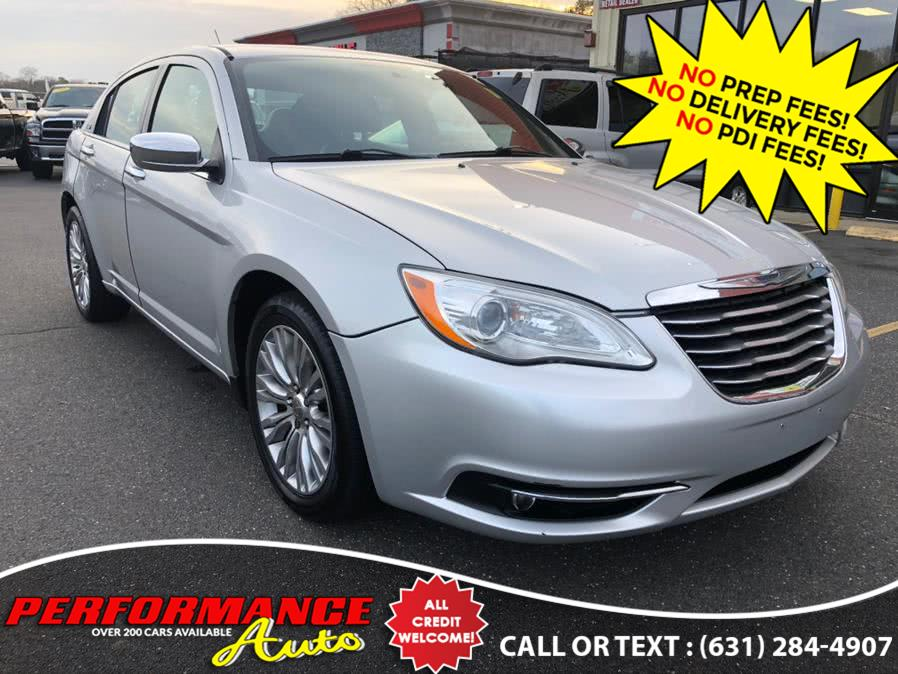 Used Chrysler 200 4dr Sdn Limited 2011 | Performance Auto Inc. Bohemia, New York
