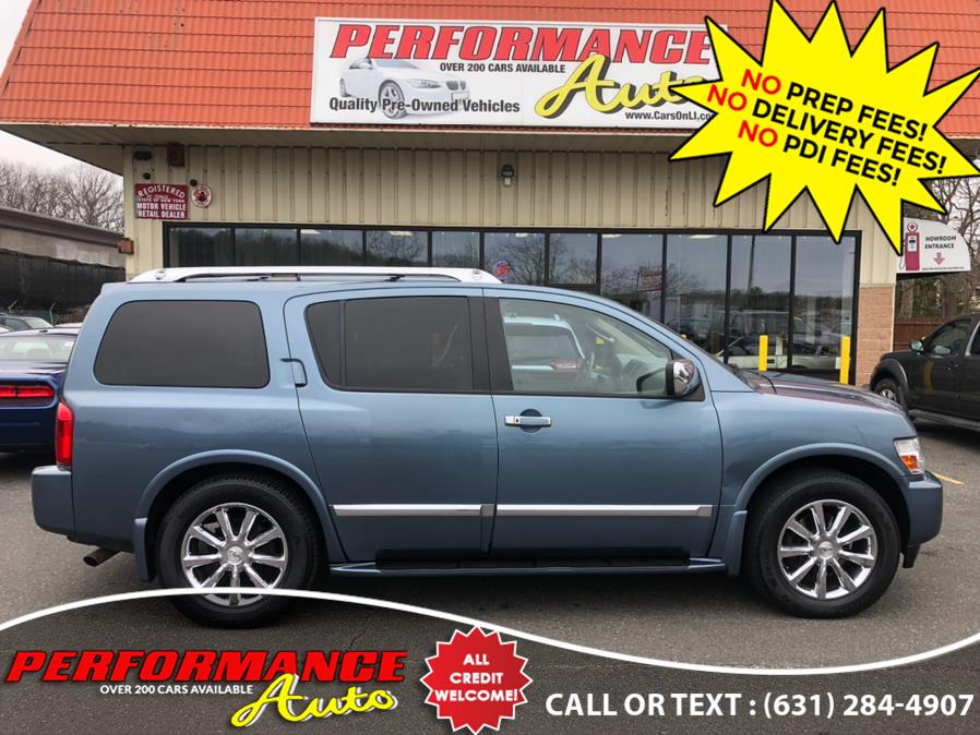 Used INFINITI QX56 4WD 4dr 2008 | Performance Auto Inc. Bohemia, New York