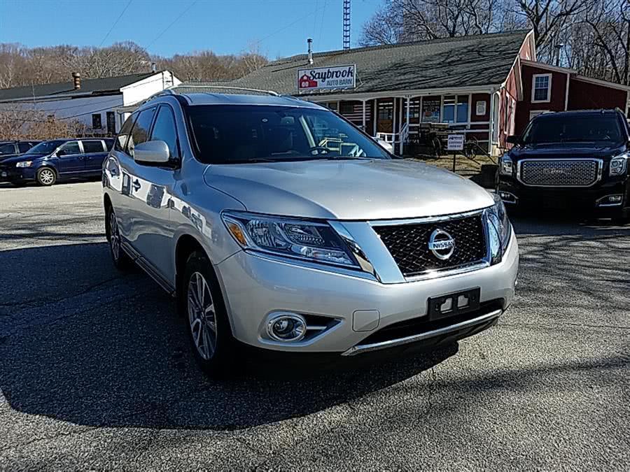Used Nissan Pathfinder 4WD 4dr SV 2015 | Saybrook Auto Barn. Old Saybrook, Connecticut