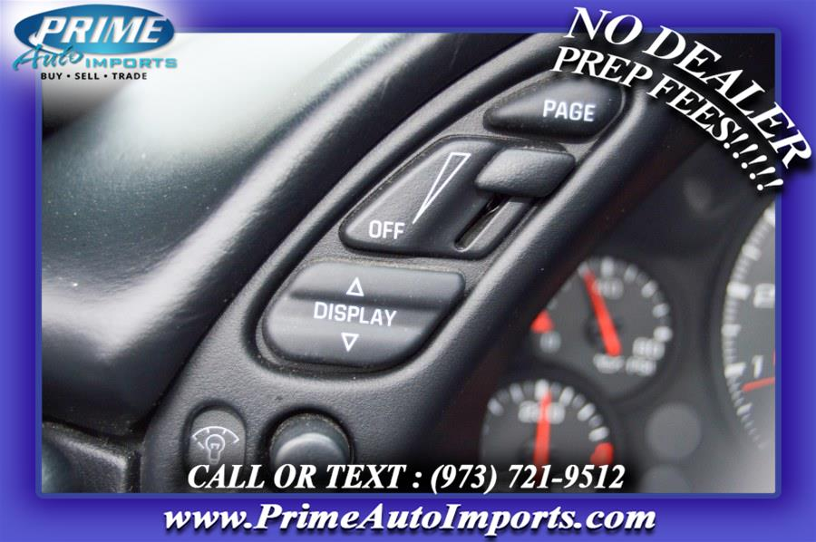Used Chevrolet Corvette 2dr Cpe 2003   Prime Auto Imports. Bloomingdale, New Jersey