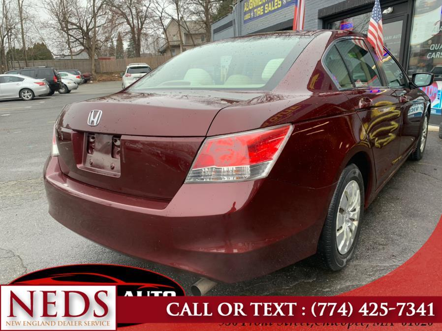 Used Honda Accord Sdn 4dr I4 Auto LX 2010 | New England Dealer Services. Indian Orchard, Massachusetts