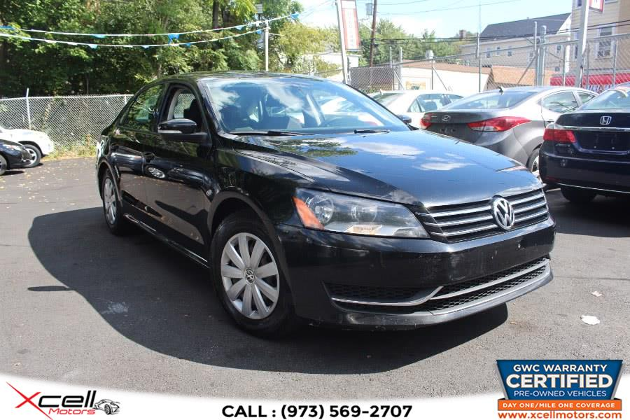 Used 2013 Volkswagen Passat in Paterson, New Jersey | Xcell Motors LLC. Paterson, New Jersey