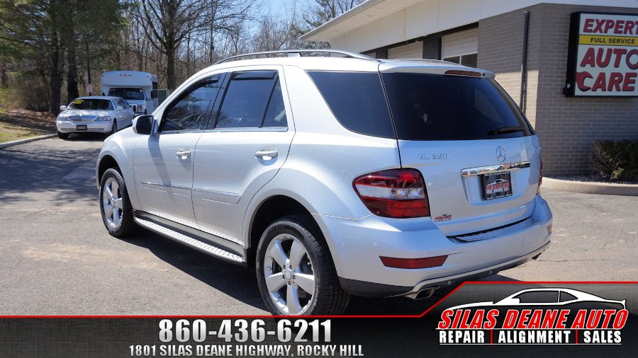 Used Mercedes-Benz M-Class 4MATIC 4dr 3.5L 2009 | Silas Deane Auto LLC. Rocky Hill , Connecticut