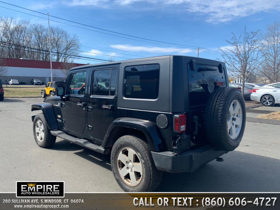 Used Jeep Wrangler 4WD 4dr Unlimited Sahara 2007 | Empire Auto Wholesalers. S.Windsor, Connecticut