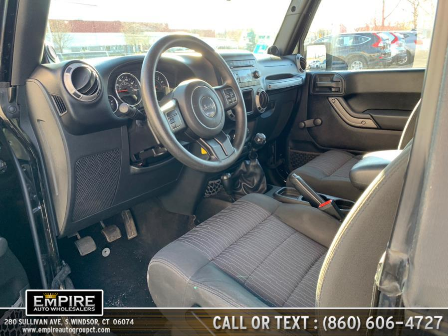 Used Jeep Wrangler 4WD 2dr Sport Manual Transmission 2012 | Empire Auto Wholesalers. S.Windsor, Connecticut