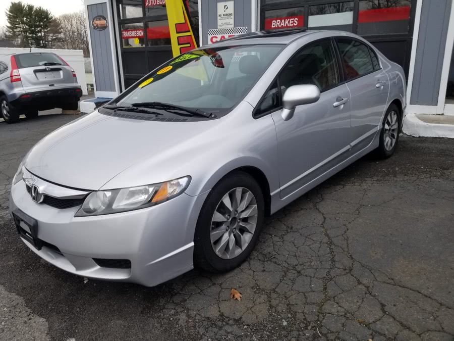 2011 Honda Civic Sdn 4dr Auto EX-L, available for sale in Milford, CT