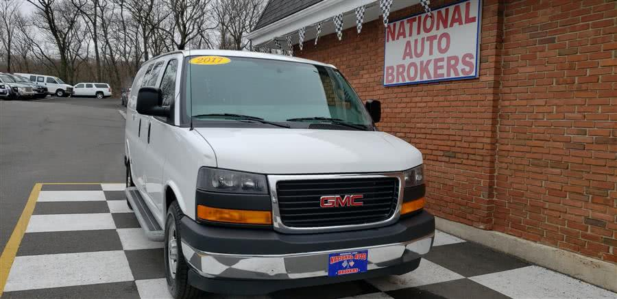 Used 2017 GMC Savana Cargo Van in Waterbury, Connecticut | National Auto Brokers, Inc.. Waterbury, Connecticut
