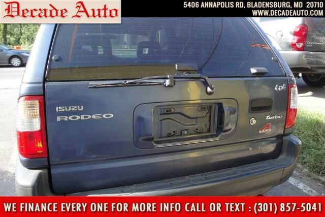Used Isuzu Rodeo 4dr LS 3.2L Auto 4WD 1998 | Decade Auto. Bladensburg, Maryland